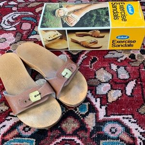 VTG Dr. Scholl's Exercise Sandals